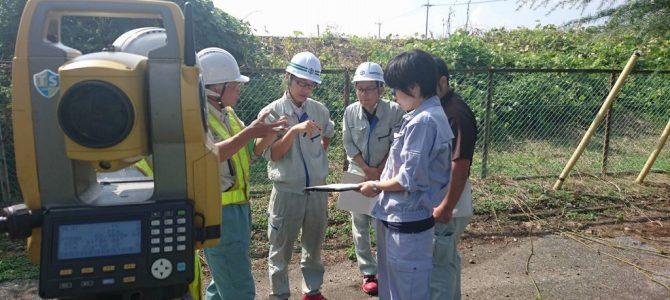 宇都宮市技術職員「測量実務研修会」に協力