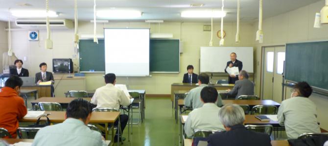 無電柱化に伴う電線共同溝構築研修会(概要編)を開催