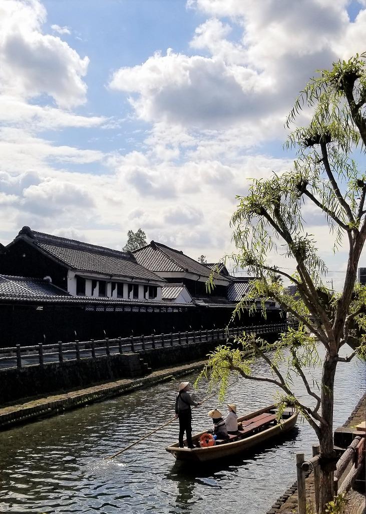 栃木市の巴波川(㈱公共用地補償研究所 芳村 巖)